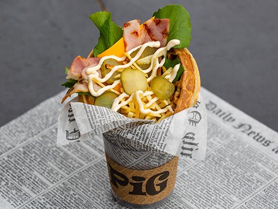Waffle gringo