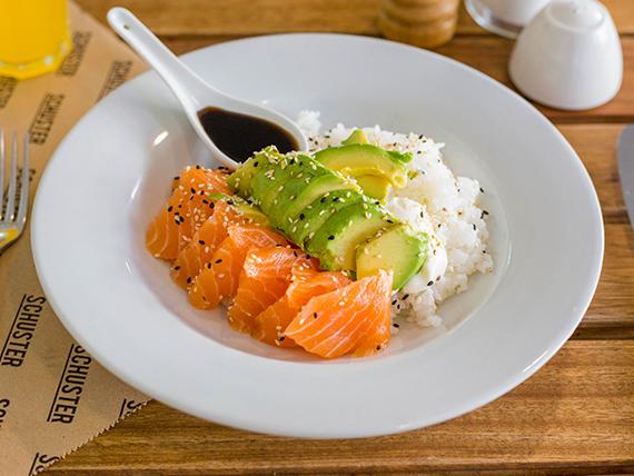 Sushi abierto