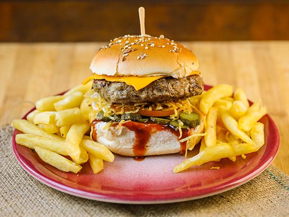 Burger Pickle Rick