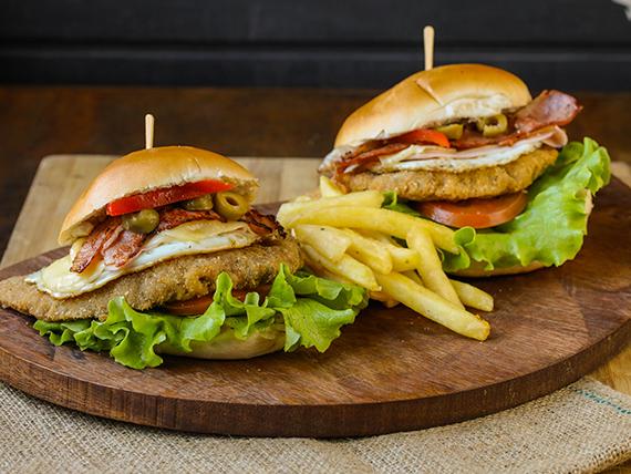 Milanesa Burger House