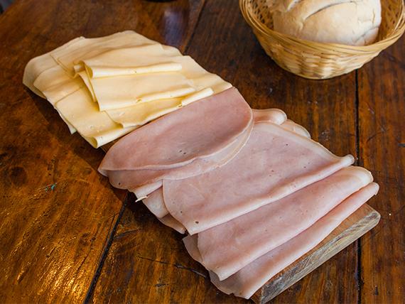 Promo 5 - Jamón cocido 200 g + queso en barra 200 g