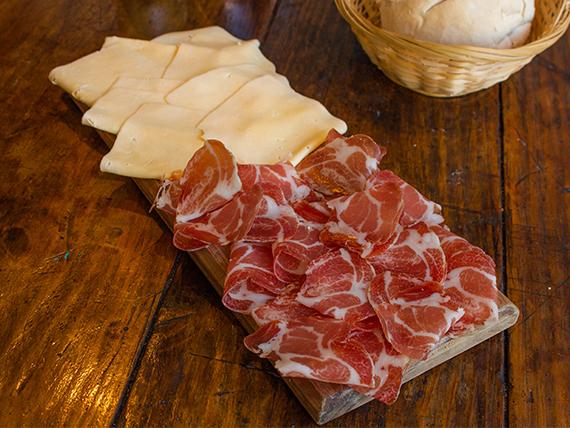 Promo 7 - Bondiola 150 g + queso en barra 150 g