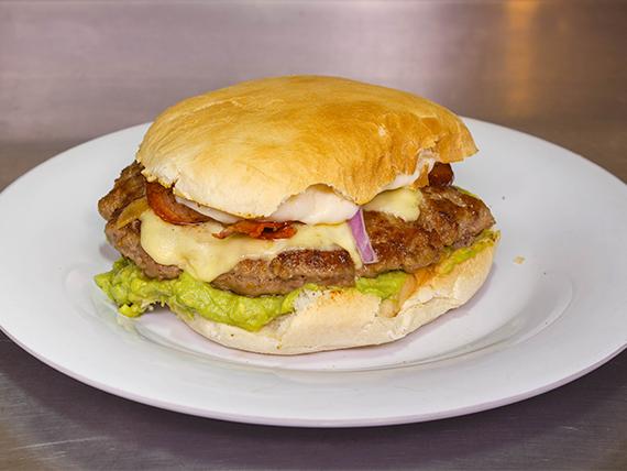 Sándwich de lomo andalúe