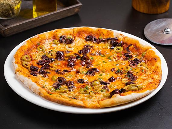 Pizza mixta de aceitunas 9'' (8 slices)