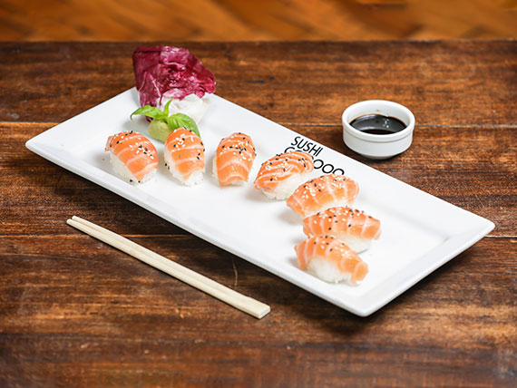 Nigiri de salmón (unidad)
