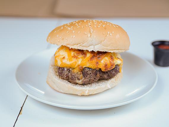 Tetra cheese burger