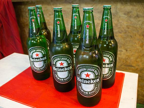 Promo - 6 cervezas Heineken 1 L