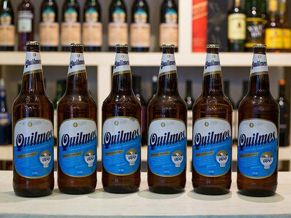 Promo - 6 cervezas Quilmes 1 L