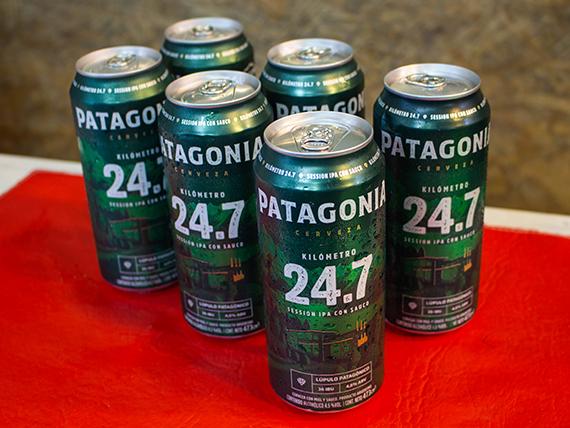 Promo - 6 latas de cerveza Patagonia IPA 500 ml