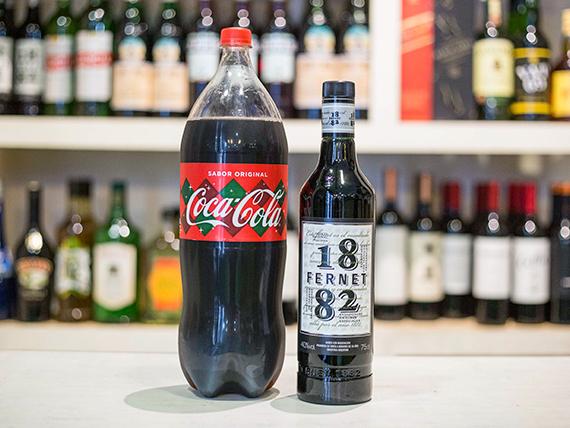 Promo 19 - Fernet 1882 + Coca Cola 2.25 L