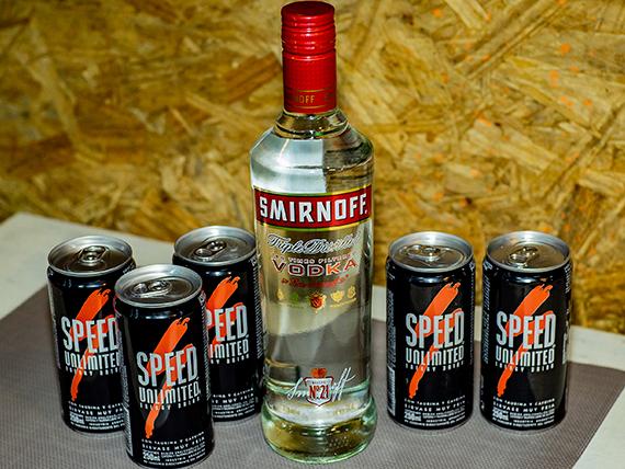 Promo  - Vodka Smirnoff 750 ml + 5 Speed
