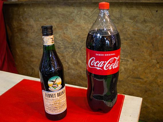 Promo 26 - Fernet Branca 450 ml + Coca cola 2.25 L
