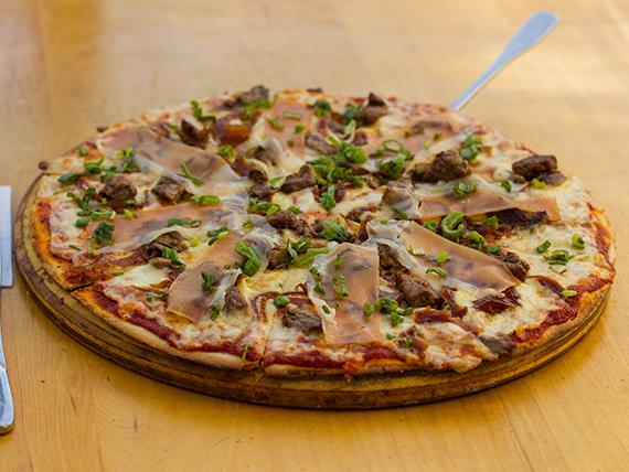 Pizza rioplatense