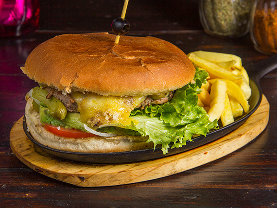 Sándwich Barbaburger