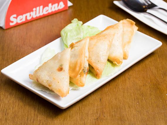 Empanadas de camarón mandarín (5 unidades)