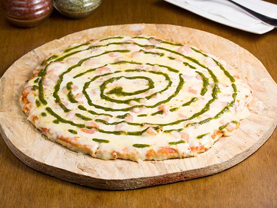 Pizza dichosos los ojos que la ven