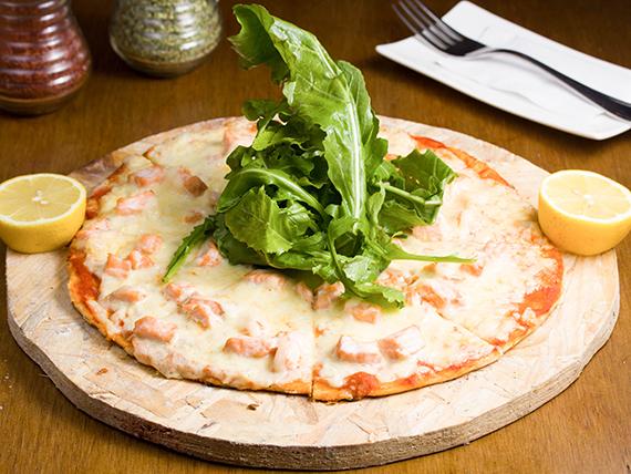 Pizza caeza de erizo