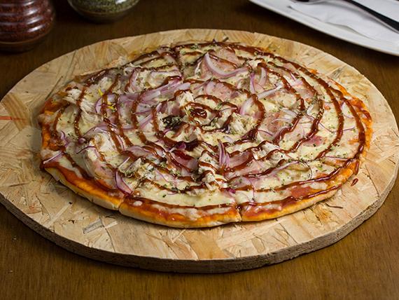 Pizza el mar embotellao