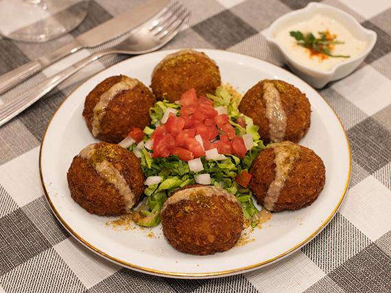 Falafel al plato (6 unidades)