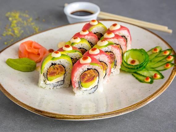 Sushi spicy tuna (10 piezas)