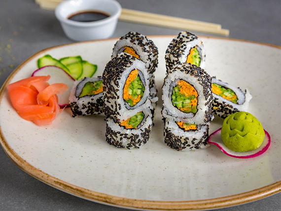 Sushi vegetariano (10 piezas)