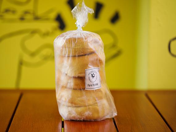 Bagels congelados Kasher parve blanco (5 unidades)