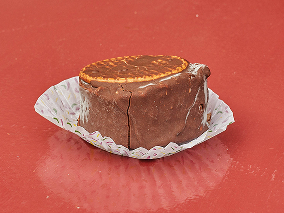 Alfajor helado de dulce de leche (individual)