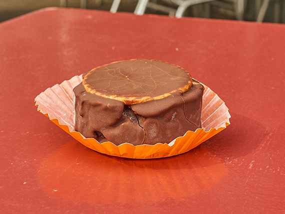 Alfajor helado de chocolate (individual)