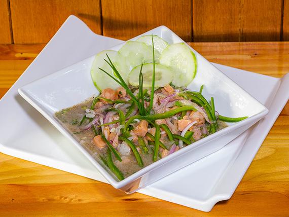 Ceviche salmon