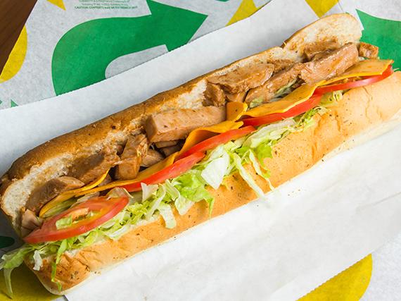Subway de pollo teriyaki (30 cm)