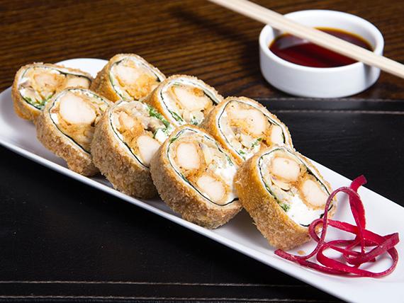 Kioto roll sin arroz frito
