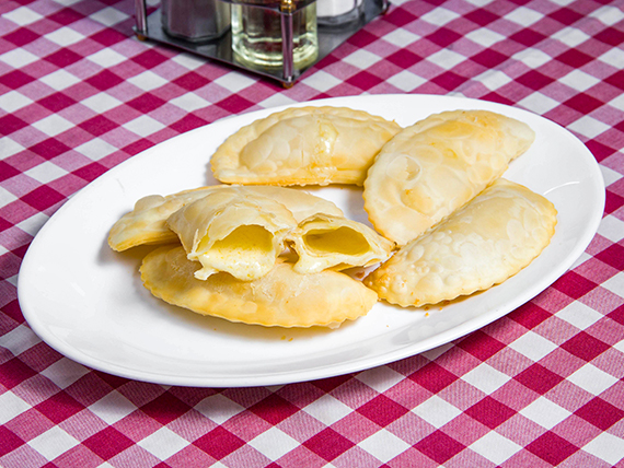 Empanadas de queso (6 unidades)