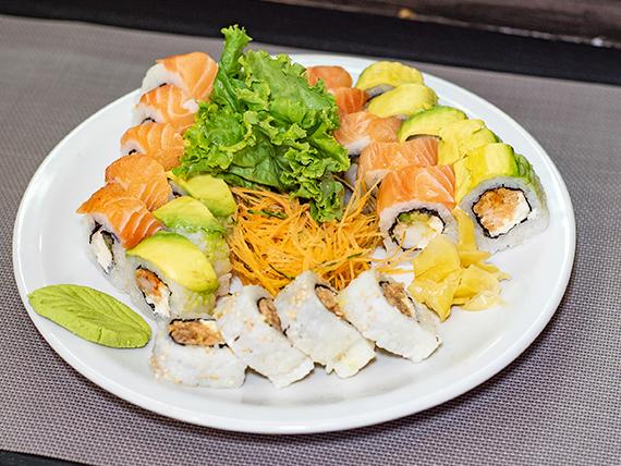 Tabla - 24 piezas de sushi