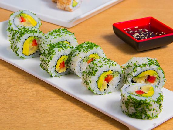 California vegano roll (8 bocados)
