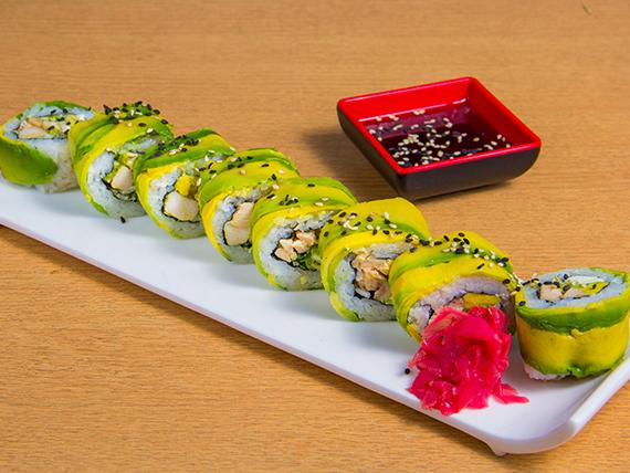 Teriyaki special roll (8 bocados)