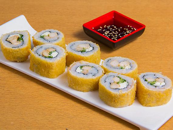 Ebi tori hot roll (8 bocados)