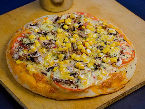 07 - Pizza vegetariana