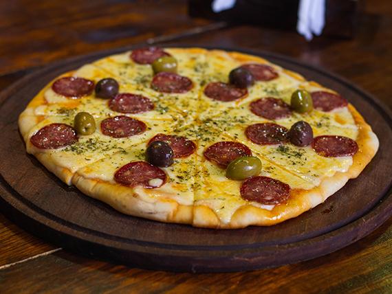 Pizza calabresa Pipistrello