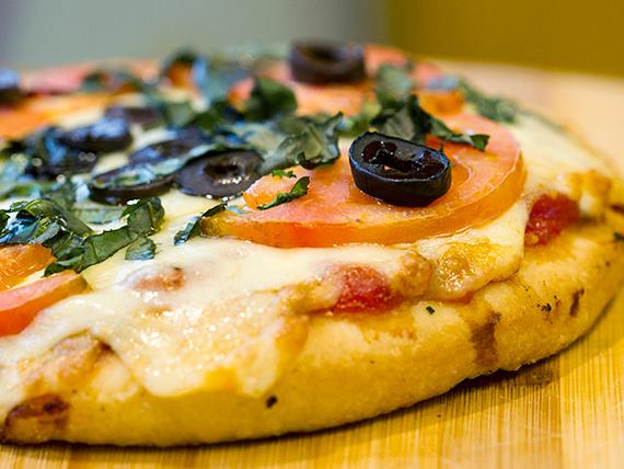 Pizza loko con muzzarella individual