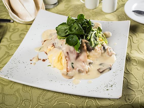 Filete Perú Gustoso con verduras salteadas