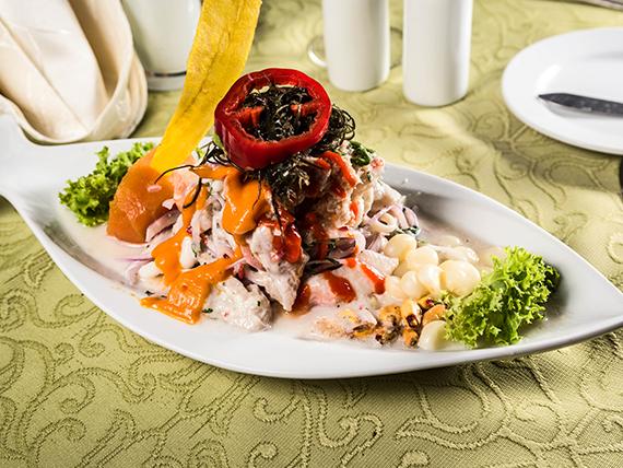 Ceviche Perú gustoso