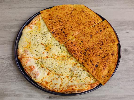 Pizzeta familiar a caballo (42 cm)