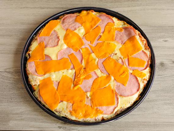 Pizzeta premium canadiense (42 cm)
