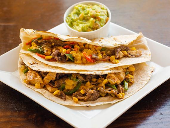 Para compartir - Quesadilla mexicanos