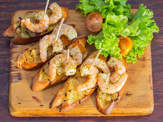 Pincho de camarón (5 unidades)