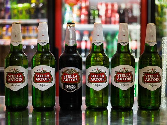 Promo - 6 cervezas Stella Artois 1 L