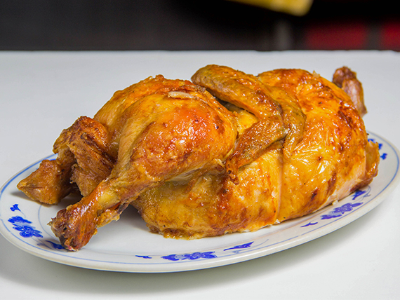 1/2 pollo asado a las brasas