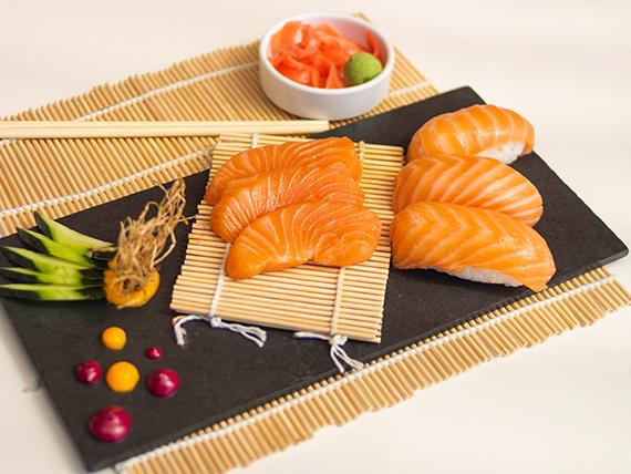 7 - Sashimi de salmón