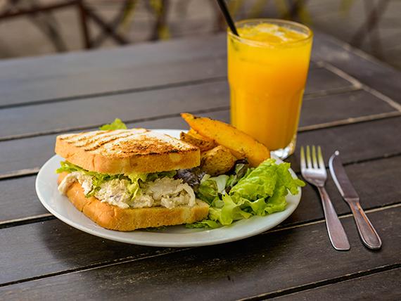 Sándwich de pollo Crespín