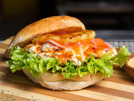 Sándwich especial hawaiano